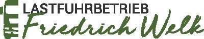Lastfuhrbetrieb Friedrich Welk GmbH & Co. KG Logo